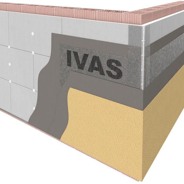 Exterior insulation system TermoK8® GRAFITE PLUS - Ivas Industria Vernici - GRUPPO IVAS
