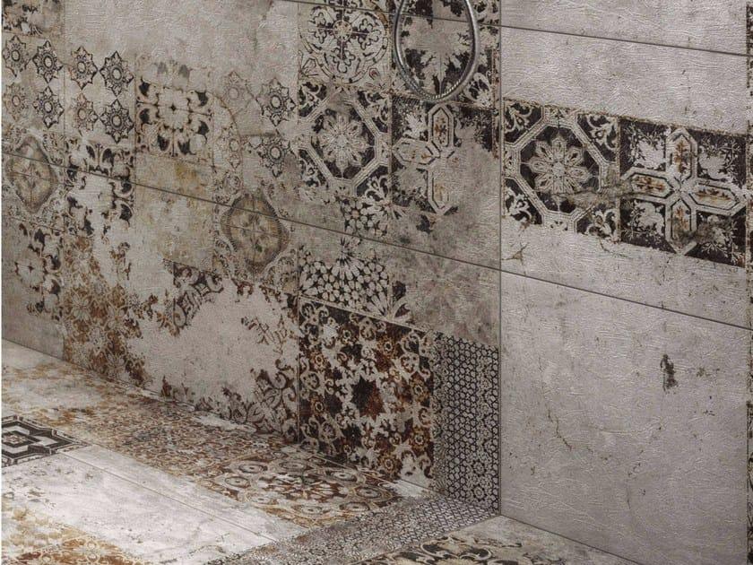 Pavimento rivestimento in gres porcellanato texture for Casa classica porcelain tile