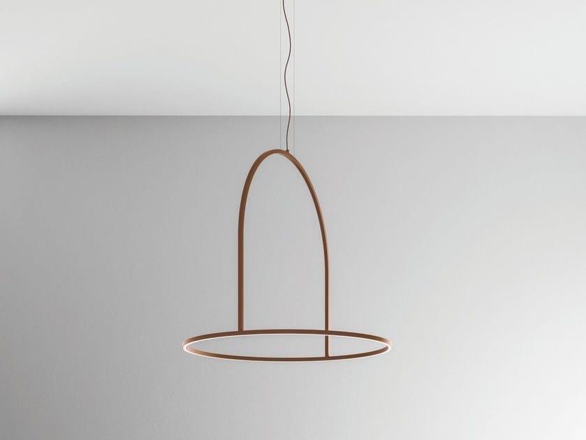 Lampada a sospensione a LED in metallo U-LIGHT 120 - AXO LIGHT