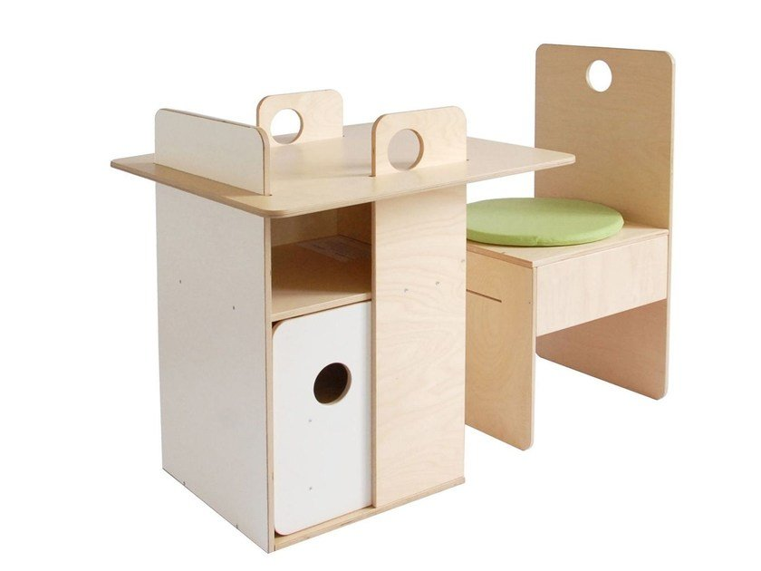 Birch kids table UBDESIGN - nuun kids design