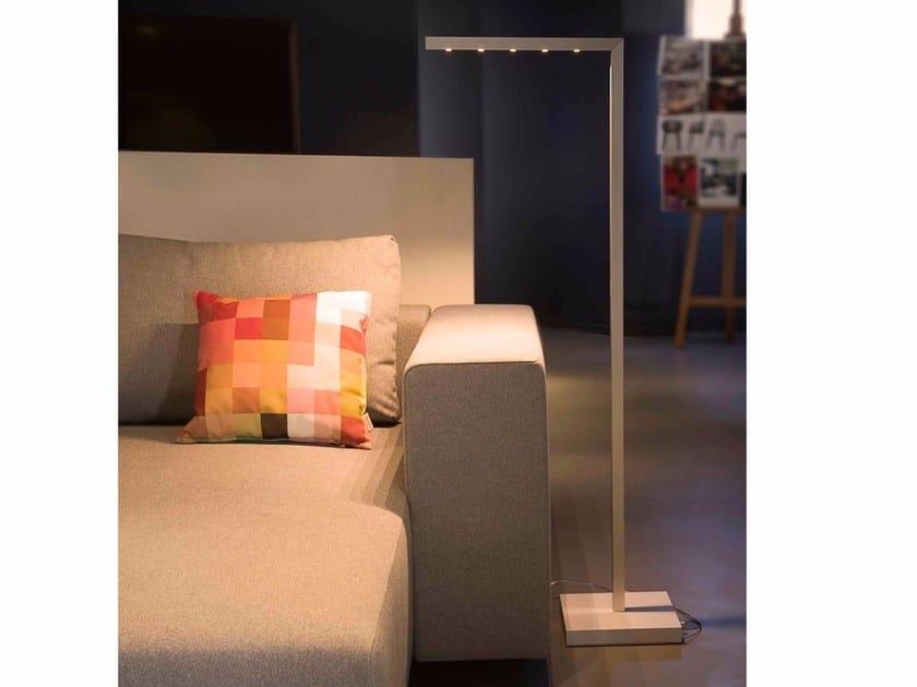 Lampada da terra a LED orientabile in alluminio con dimmer ULTIMO | Lampada da terra - FERROLIGHT DESIGN