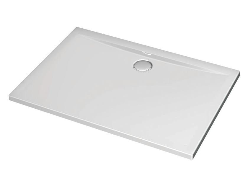 Rectangular acrylic shower tray ULTRA FLAT 120 x 70 cm - K1936 - Ideal Standard Italia