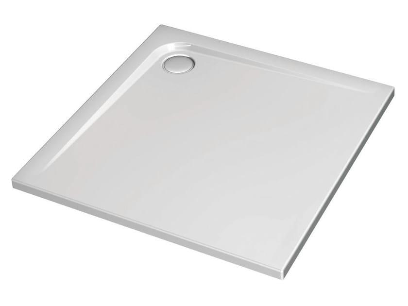 Square acrylic shower tray ULTRA FLAT 100 x 100 cm - K5174 - Ideal Standard Italia