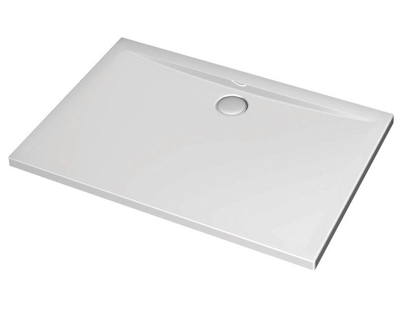 Rectangular acrylic shower tray ULTRA FLAT 120 x 100 cm - K5184 by Ideal Standard