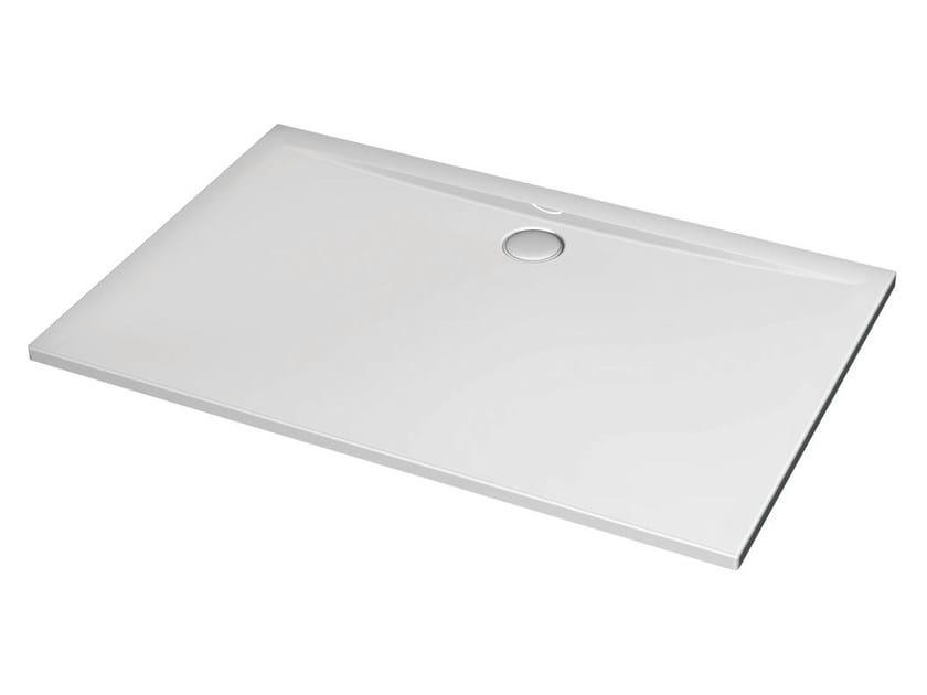 Rectangular acrylic shower tray ULTRA FLAT 140 x 80 cm - K5185 - Ideal Standard Italia