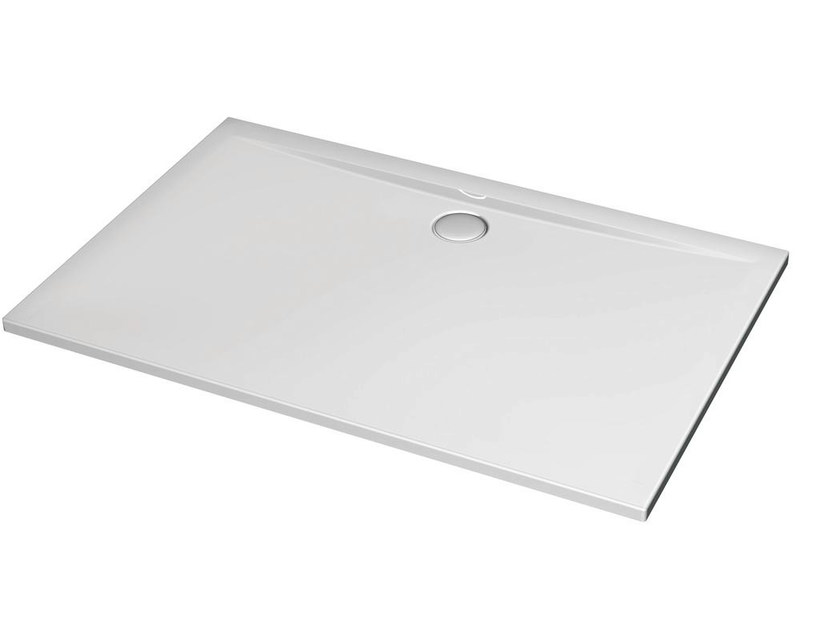 Rectangular acrylic shower tray ULTRA FLAT 140 x 90 cm - K5186 - Ideal Standard Italia