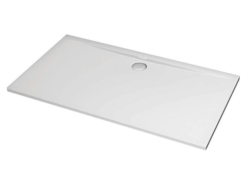 Rectangular acrylic shower tray ULTRA FLAT 160 x 80 cm - K5187 - Ideal Standard Italia