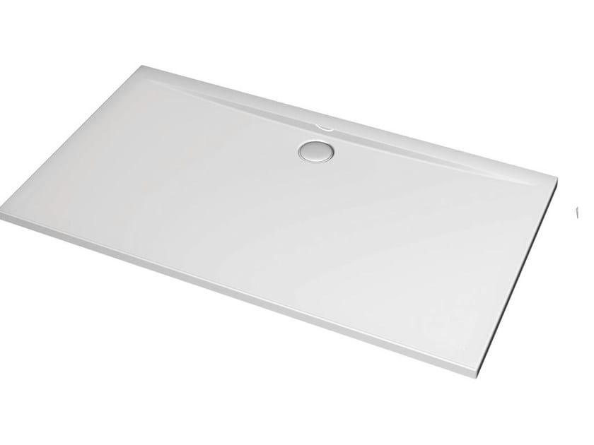 Rectangular acrylic shower tray ULTRA FLAT 160 x 90 cm - K5188 by Ideal Standard