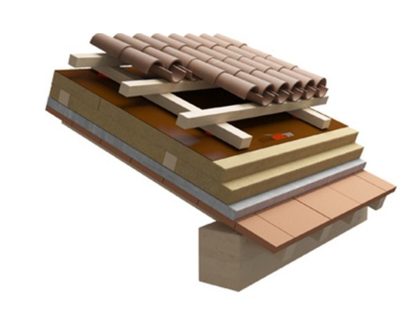 Sistema per tetto ventilato TETTO UMBRIA-TOSCANA - Naturalia-BAU