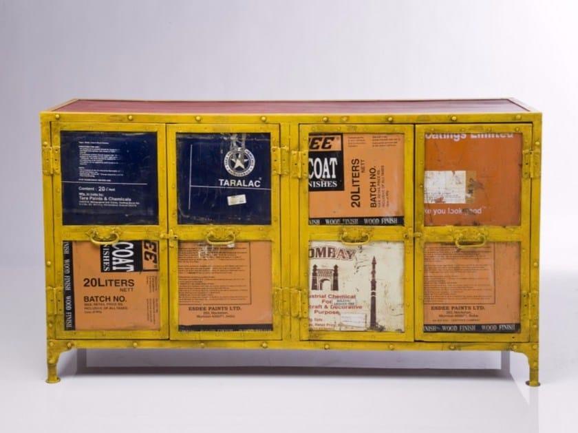 Steel sideboard with doors UNDERGROUND | Sideboard by KARE-DESIGN