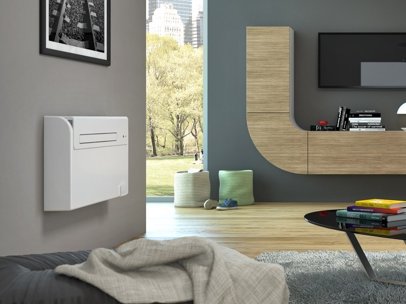 climatizzatore a parete con sistema inverter senza unit esterna unico air inverter olimpia. Black Bedroom Furniture Sets. Home Design Ideas