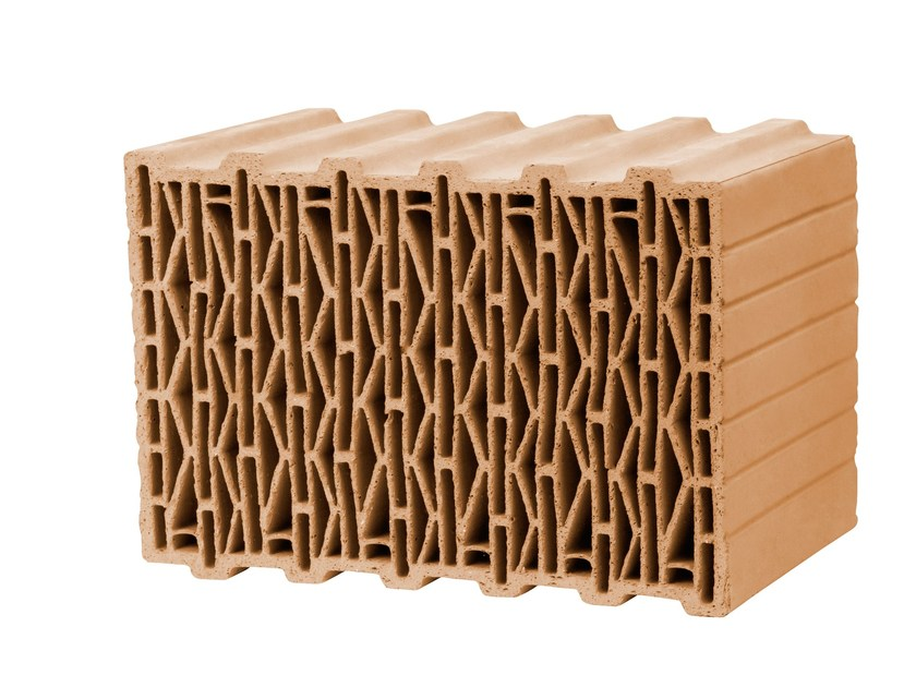 Thermal insulating clay block UNIPOR W09 - W10 - W12 PLANZIEGEL by LEIPFINGER-BADER