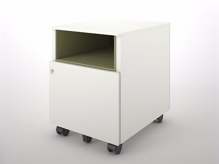 Modular metal office drawer unit with casters UNIVERSAL COLOR MOBILE 420 | Office drawer unit - Dieffebi