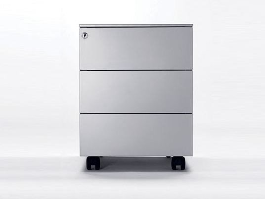 Metal office drawer unit with casters UNIVERSAL MOBILE 420 - Dieffebi