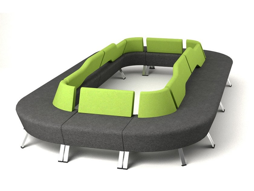Divano modulare in tessuto UPDOWN | Divano modulare - profim
