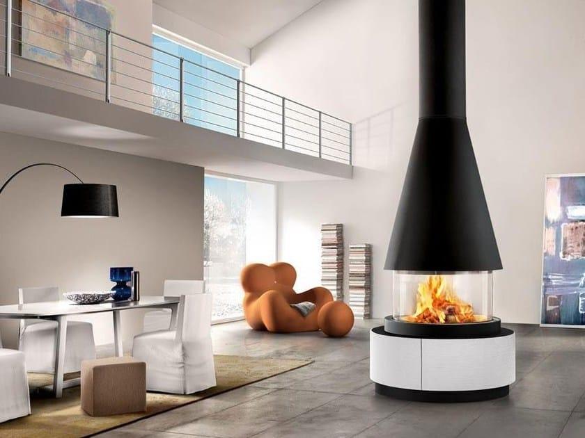 Faïence Fireplace Mantel UPPSALA by Piazzetta