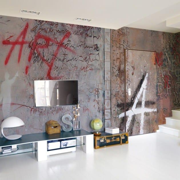 Artistic wallpaper UPSET - Inkiostro Bianco