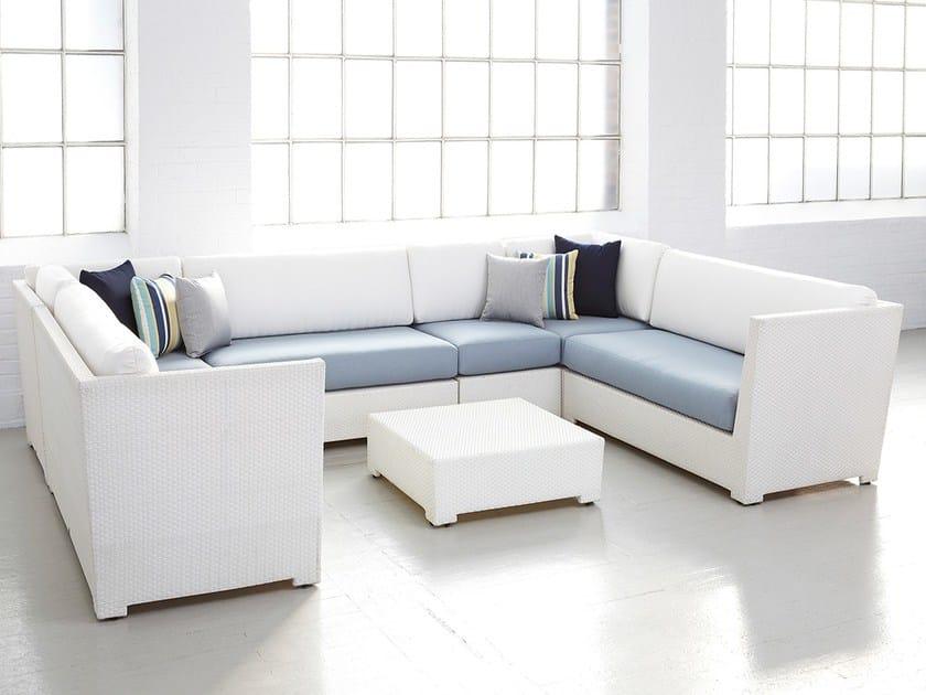 Modular garden sofa UPTOWN | Modular sofa - 7OCEANS DESIGNS