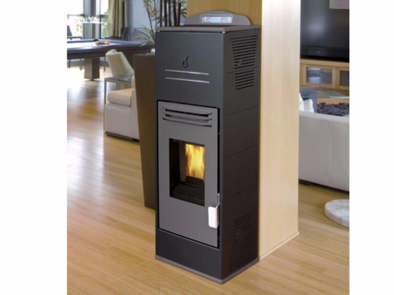 Pellet wall-mounted stove URANO COMPACT - Fintek
