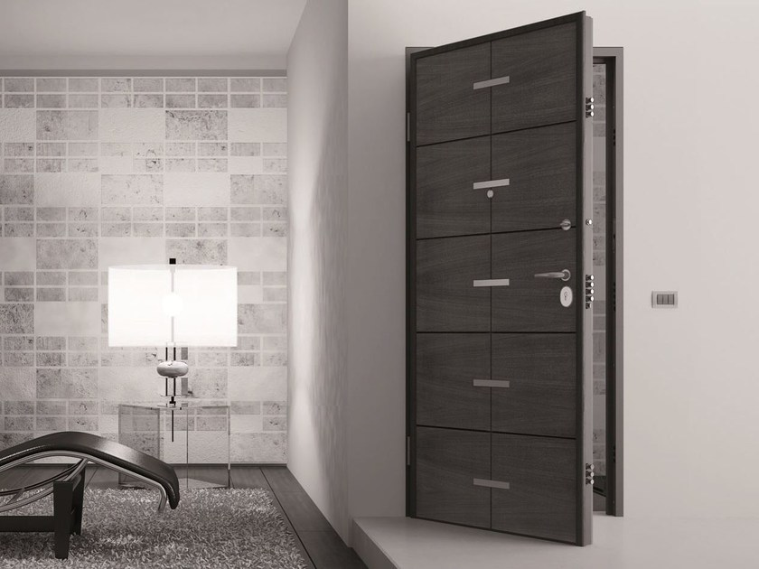 Acoustic safety door with electronic lock URANO - Arcadia Componibili - Gruppo Penta