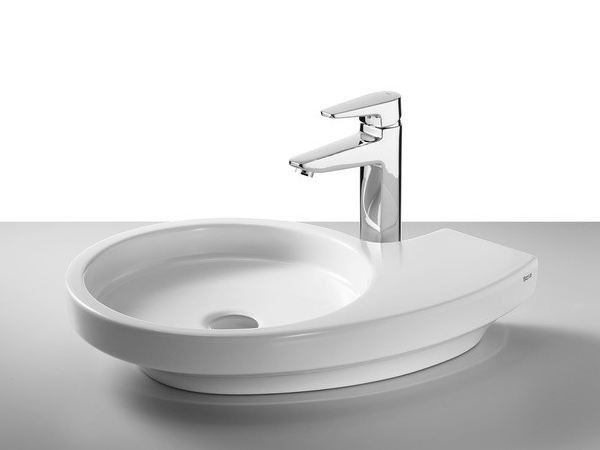 Countertop washbasin URBI 3 - ROCA SANITARIO