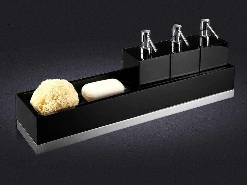Resin bathroom wall shelf USE 60 | Bathroom wall shelf - Vallvé Bathroom Boutique