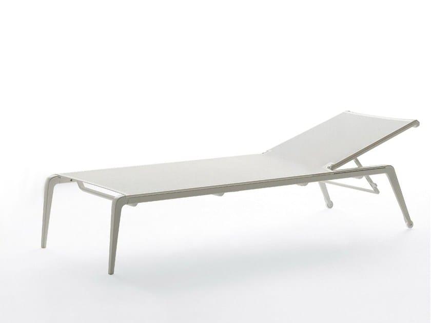 Stackable Recliner aluminium garden daybed USHUAIA - FAST