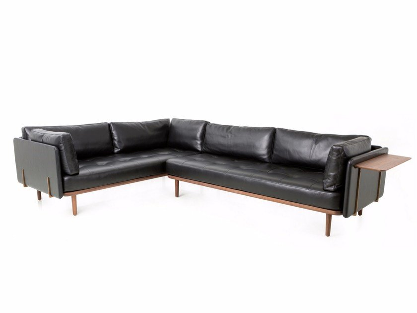 Sectional leather sofa UTILITY SOFA SET by STELLAR WORKS