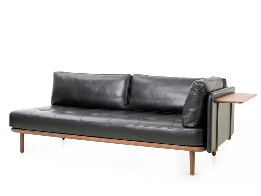3 seater leather sofa UTILITY SOFA TWO SIDES - STELLAR WORKS