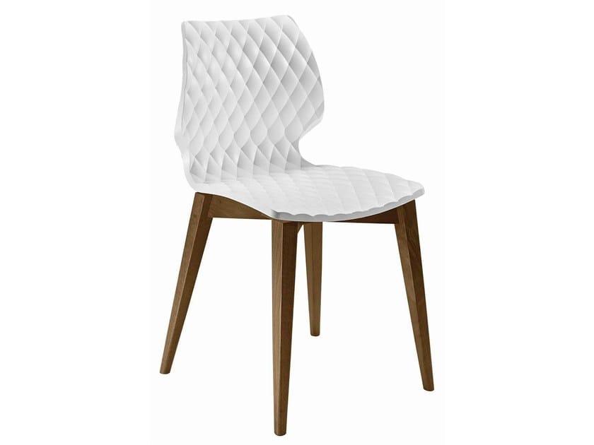 Polypropylene restaurant chair Uni 562 - Metalmobil