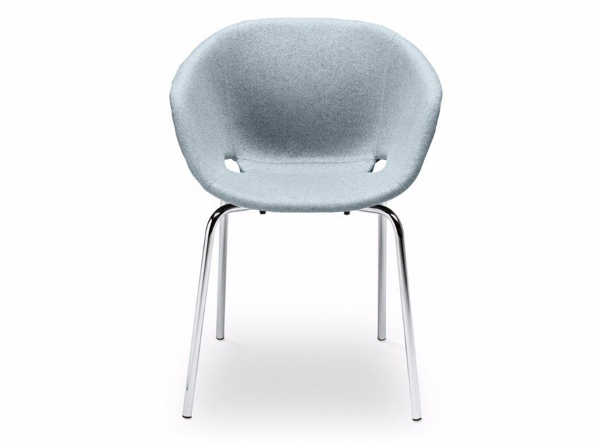 Upholstered polypropylene easy chair Uni-Ka 594M - Metalmobil