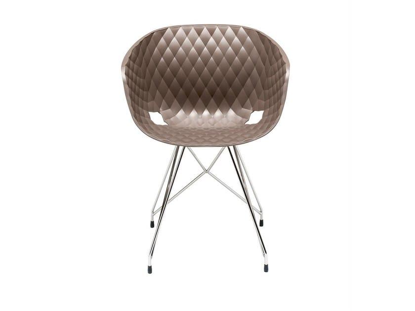 Polypropylene easy chair Uni-Ka 596 - Metalmobil