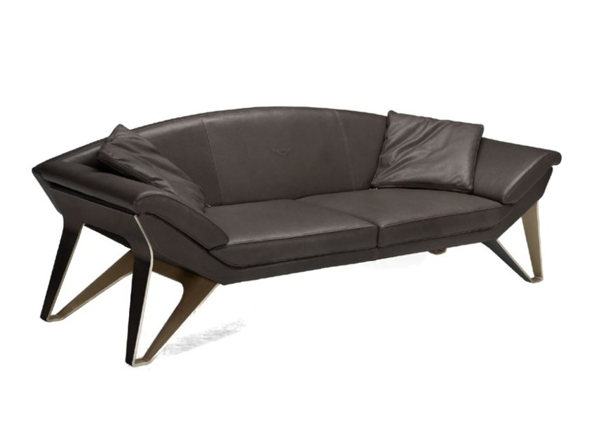 Upholstered 3 seater leather sofa V010 | 3 seater sofa - Aston Martin by Formitalia Group
