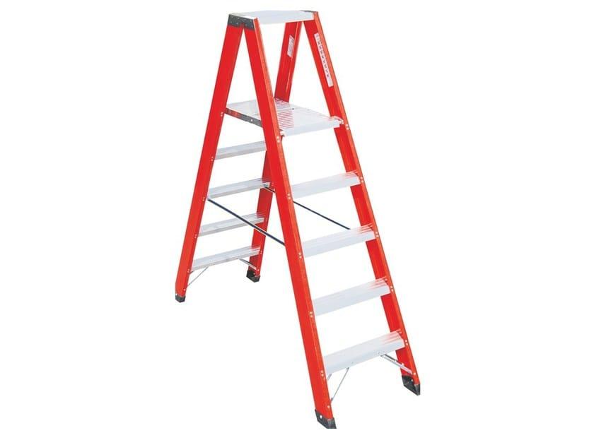 Double sided trestle ladder V025 - Frigerio Carpenterie