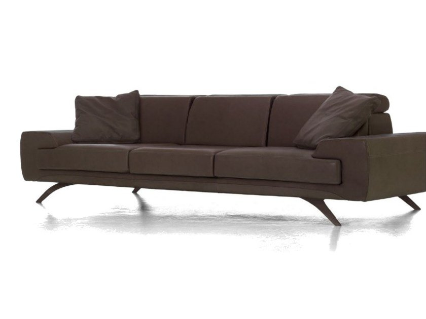 Upholstered 4 seater leather sofa V034 | 4 seater sofa by Aston Martin