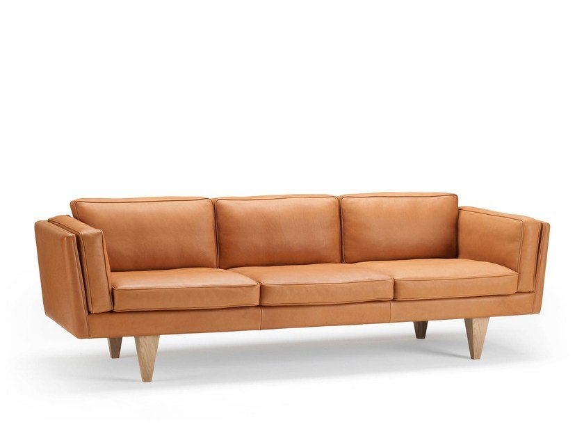 Leather sofa V11   Leather sofa by Stouby