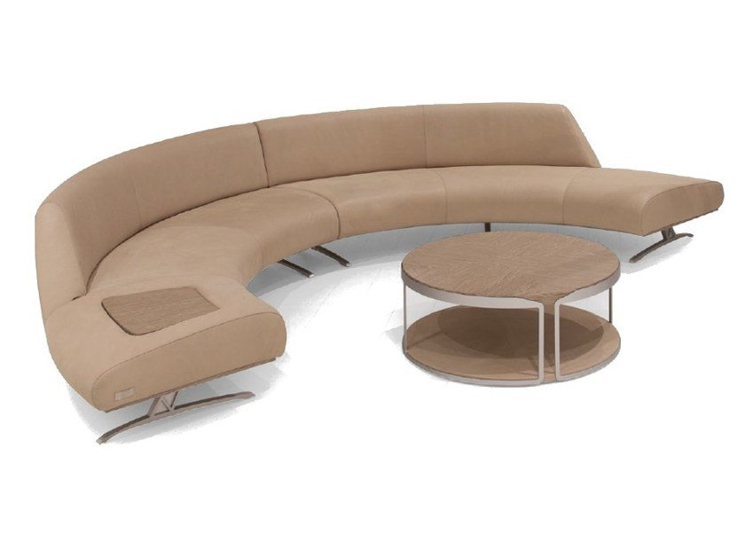 Corner sectional upholstered leather sofa V114 COMPOSITION 1 | Sectional sofa - Aston Martin by Formitalia Group