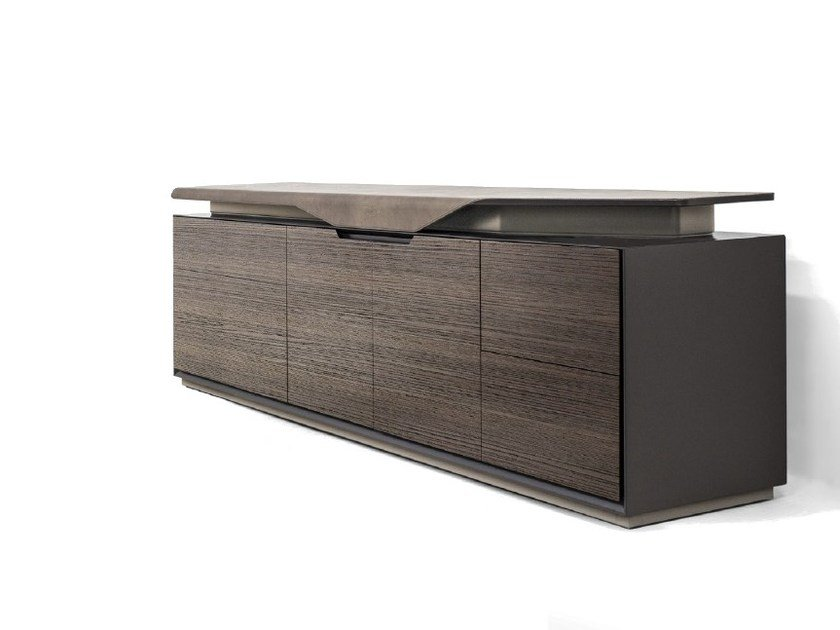 Wooden highboard / sideboard V136 | Sideboard - Aston Martin
