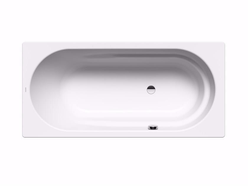 Rectangular enamelled steel bathtub VAIO by Kaldewei Italia
