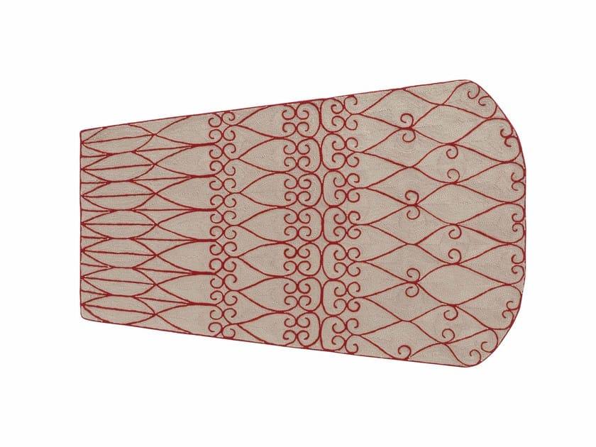 Patterned wool rug VALENTINA | Rug by GAN