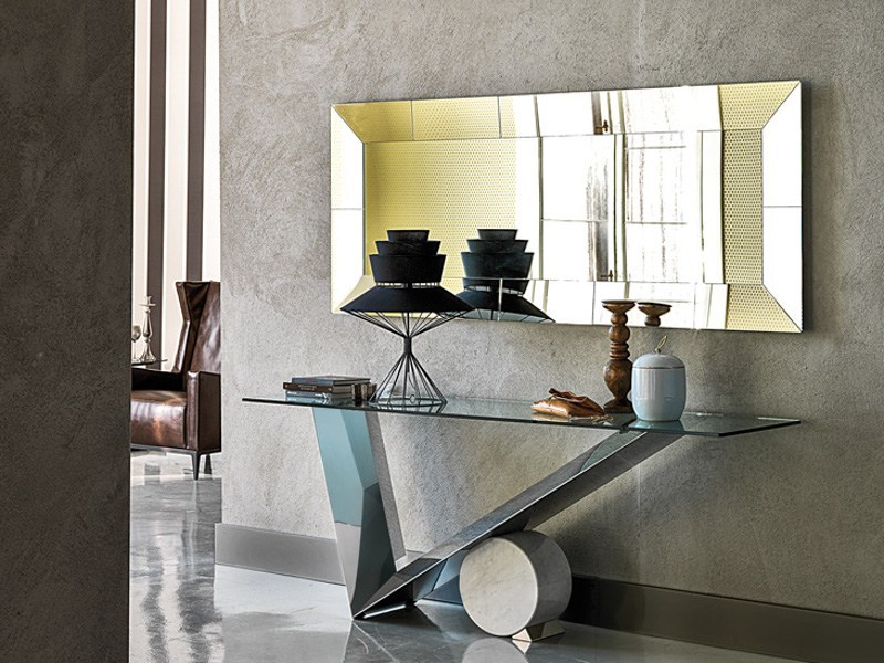 Rectangular crystal console table VALENTINOX | Console table - Cattelan Italia
