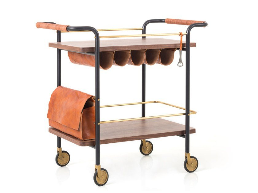 Bar cart VALET BAR CART - STELLAR WORKS