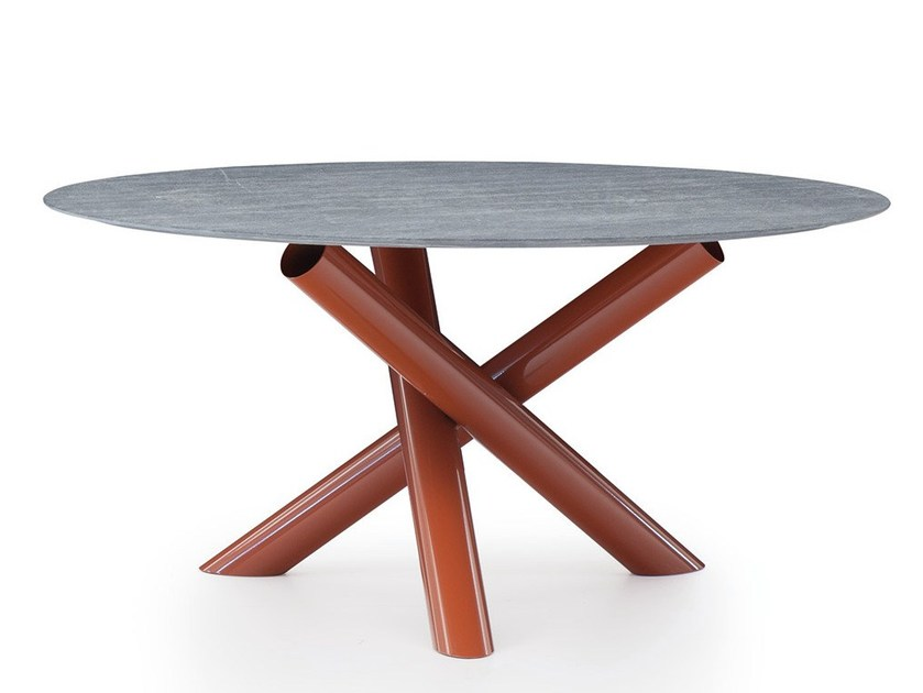 Outdoor table VAN DYCK OUTDOOR by Minotti
