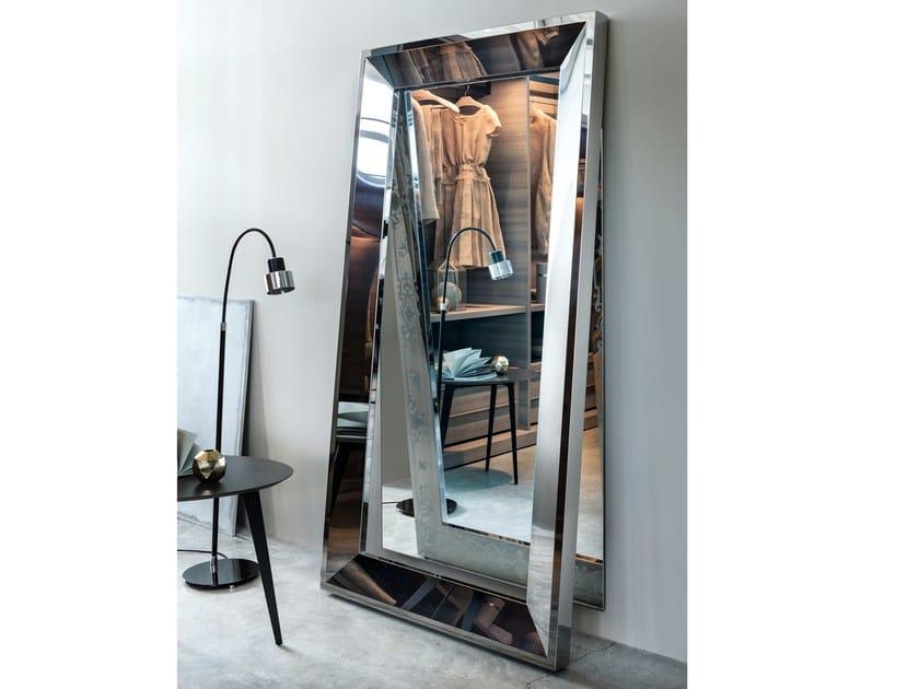 Framed freestanding rectangular mirror VANITY - Lema