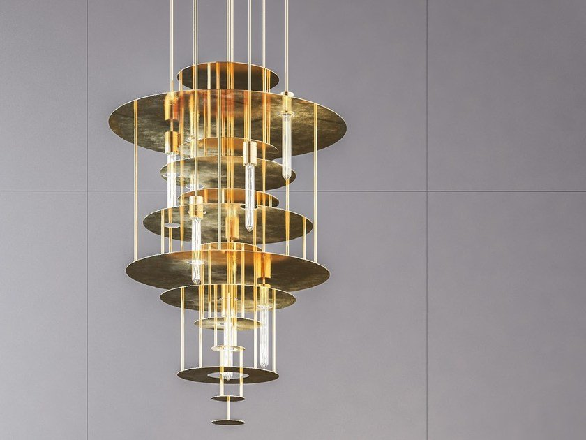 Handmade metal pendant lamp VANTAA by Cameron Design House