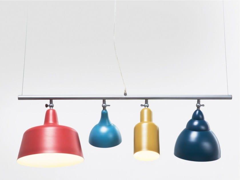 Powder coated steel pendant lamp VARIETY - KARE-DESIGN