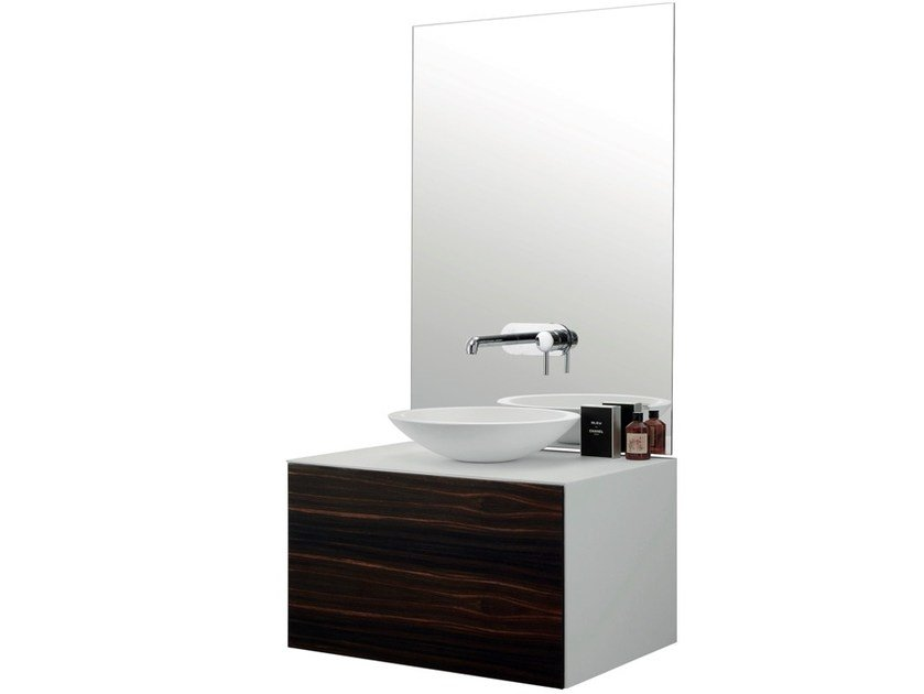 Single wall-mounted vanity unit with drawers VASQUE - International Swiss Concepts