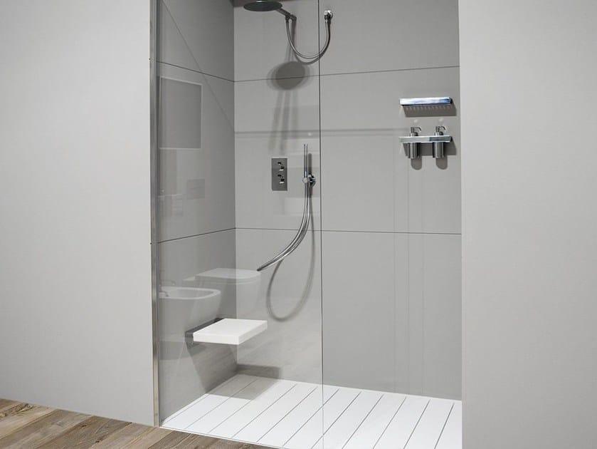 Design modular glass shower wall panel VB - Antonio Lupi Design®