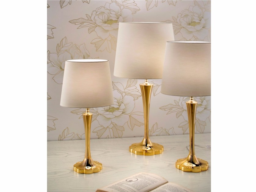 Direct light incandescent brass table lamp VE 1084 | Table lamp - Masiero