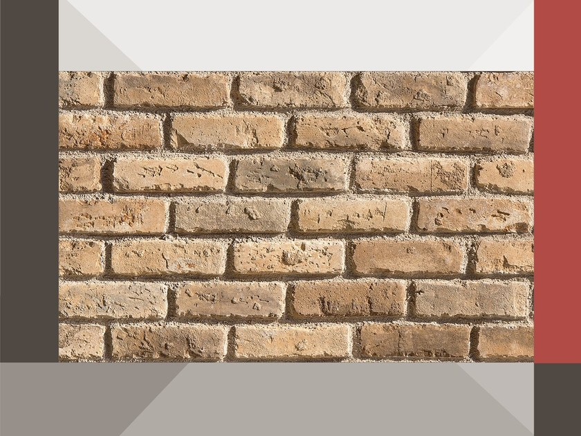 Reconstructed stone wall tiles VECCHIO MR01 TERRAKOTTA - GEOPIETRA®